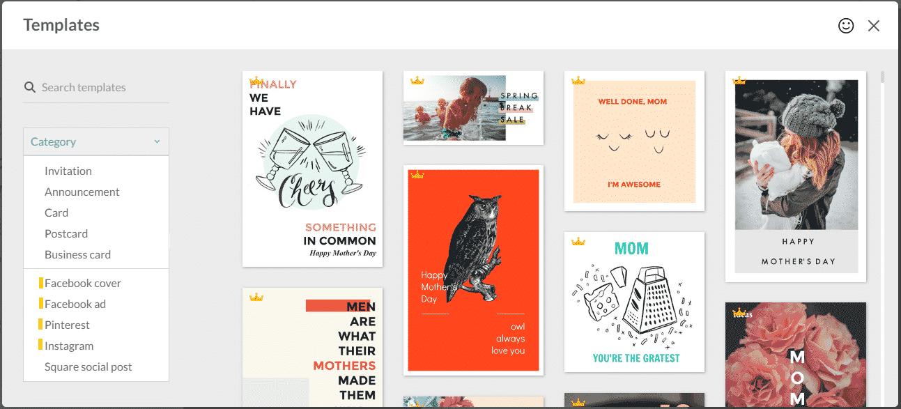picmonkey templates