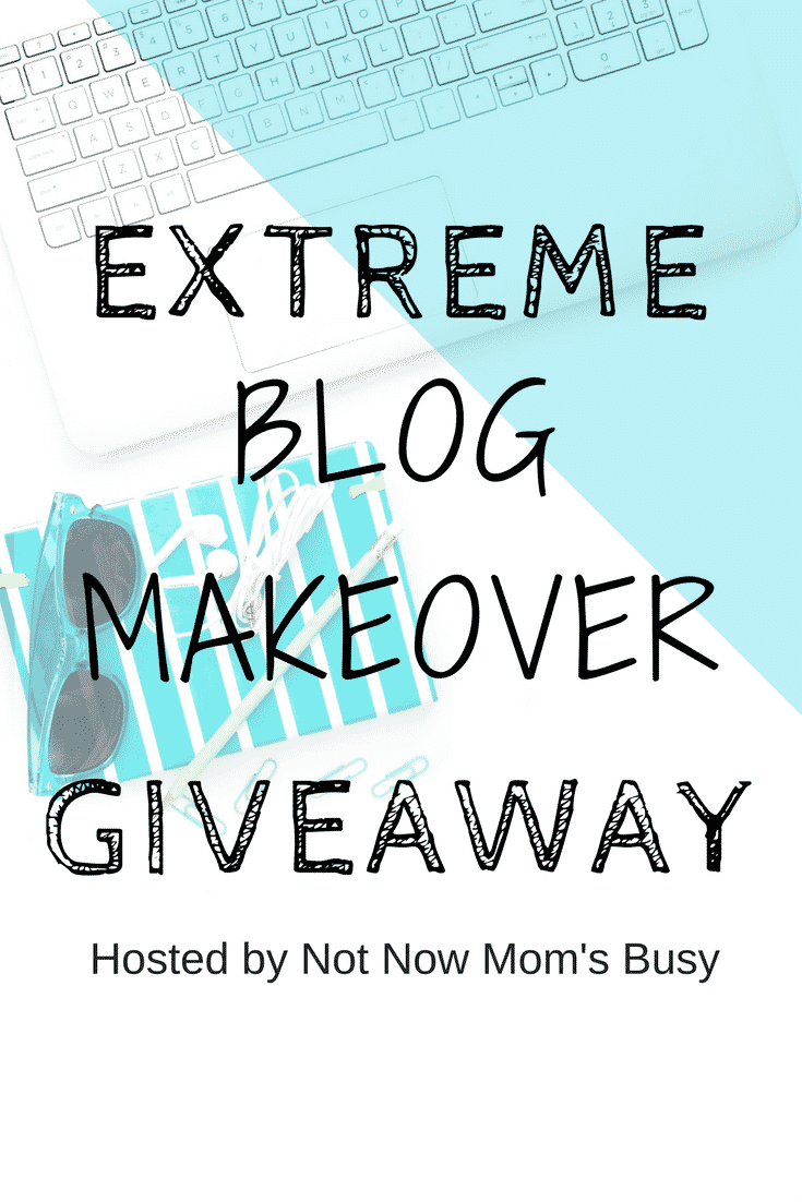 The Extreme Blog Makeover Giveaway