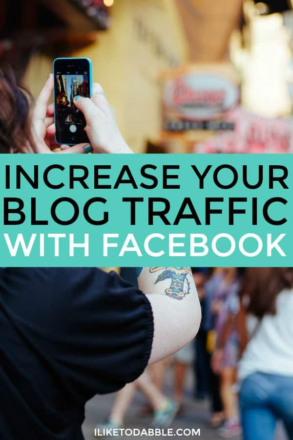 Increase your blog traffic with facebook. Boost your blog. Expand your blog audience. Blogging with facebook. Boost your blog with facebook.