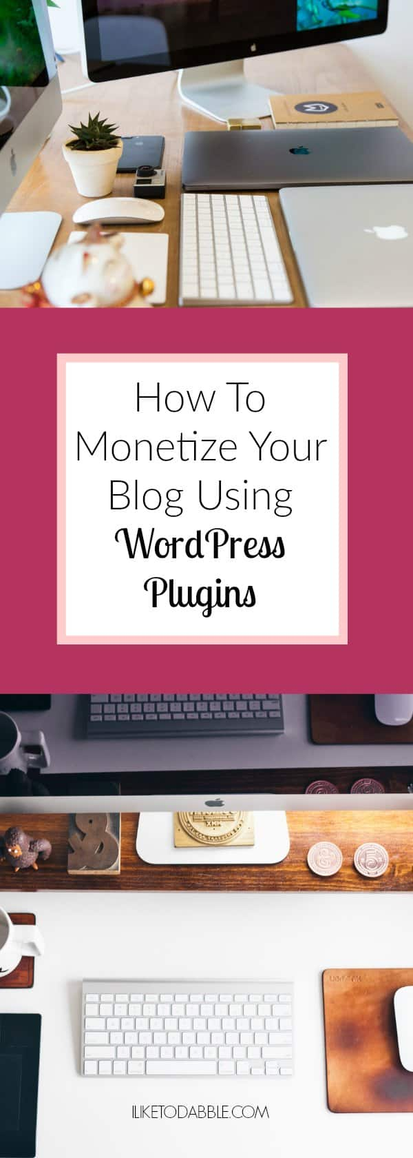 Monetize Your Blog With FREE WordPress Plugins! How to monetize your blog.