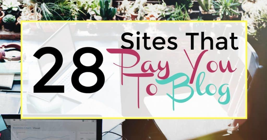 Sites that pay you to blog