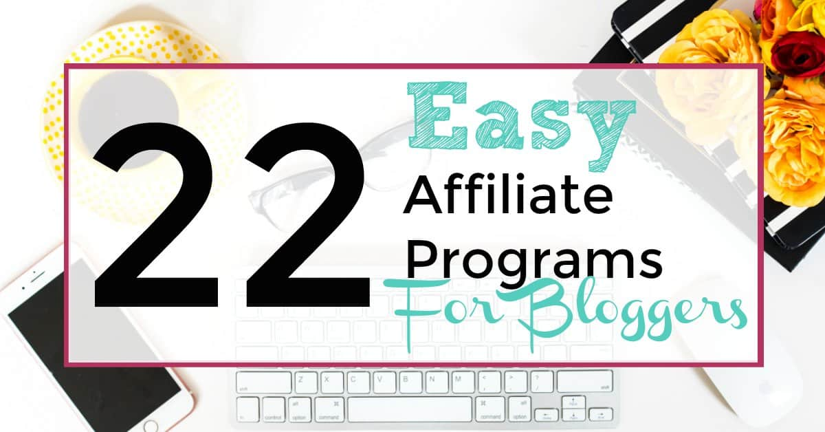 affiliate programs for bloggers