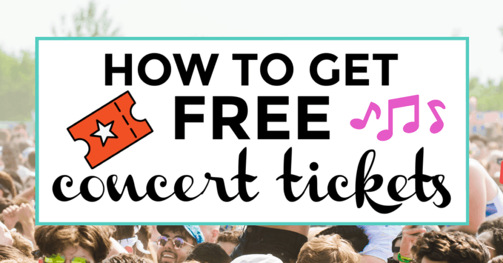 free concert tickets featured image