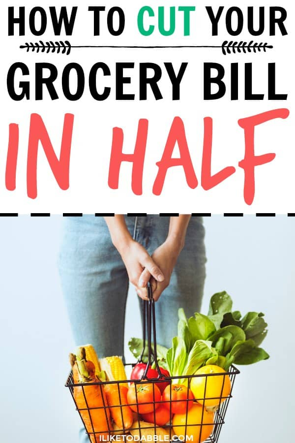 Save money on groceries. Cut your grocery bill in half. Frugal foodie. Frugal living. #savemoney #frugalfoodie #frugalliving #frugal