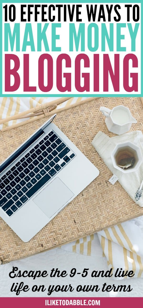 Start a blog. Effective ways to make money blogging. Tips for bloggers. Monetize your blog. How to make money blogging. Boost your blog income. Improve your blog income. Blog for a living. Escape the 9 to 5