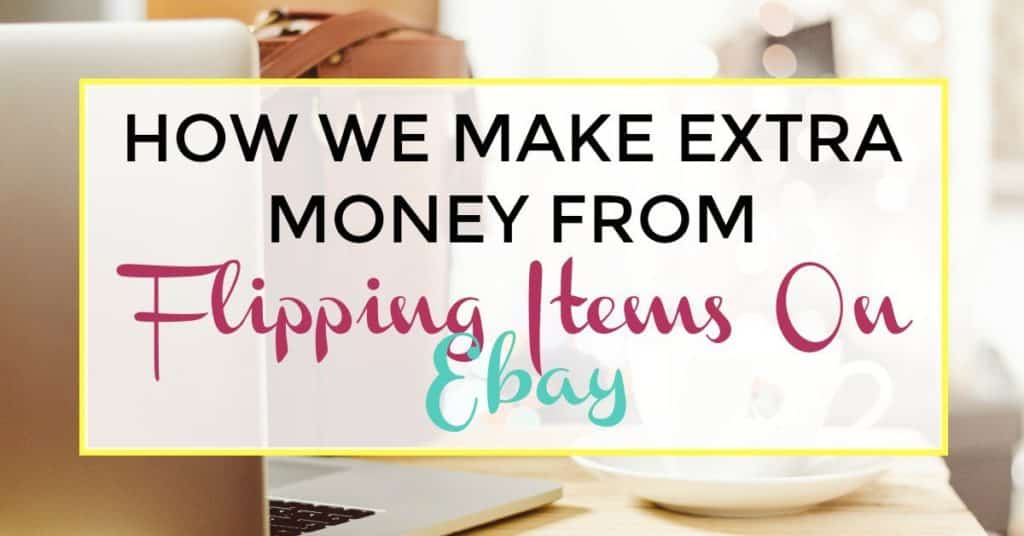 How We Make Extra Money From Flipping Items On Ebay I Like To Dabble