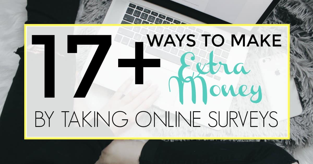 taking online surveys for money 17 ways to make extra money by taking online surveys 5639