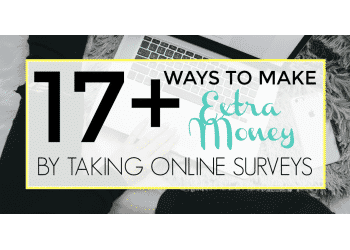 make extra money by taking online surveys