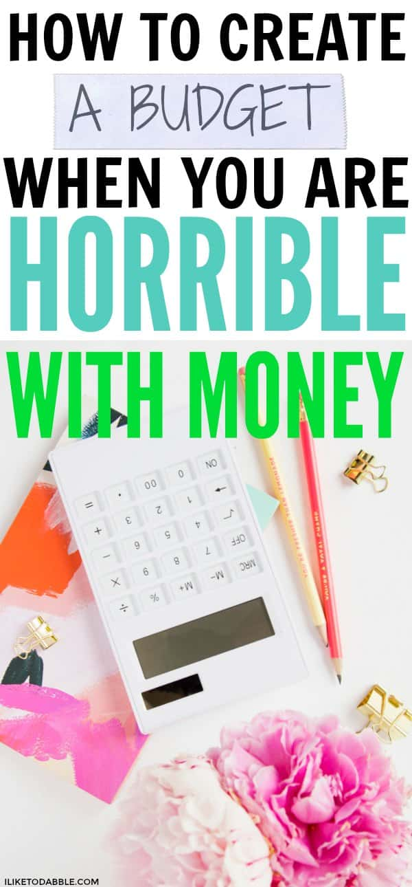 how to make budget and save money