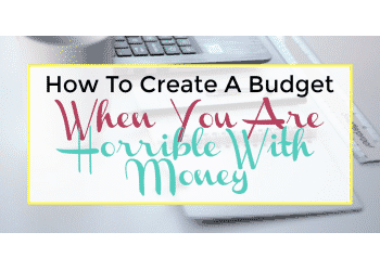 budget planner - create a budget
