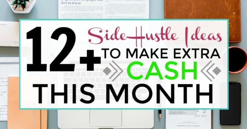 12+ side hustle ideas to make extra cash this month image