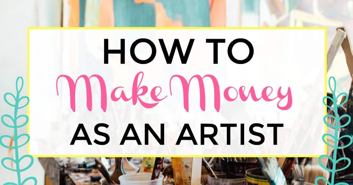 how to make money as an artist online. how to make money online as an artist.