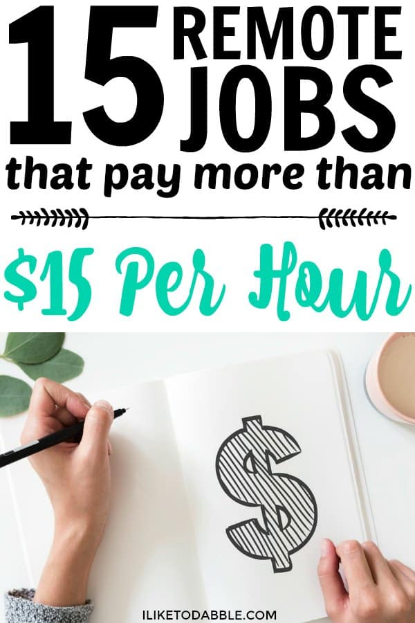 Remote jobs from home. Remote jobs that pay well. Remote jobs that pay more than $15 hourly. Work from home. Work from anywhere. Digital nomad. #workfromhome #remotejobs