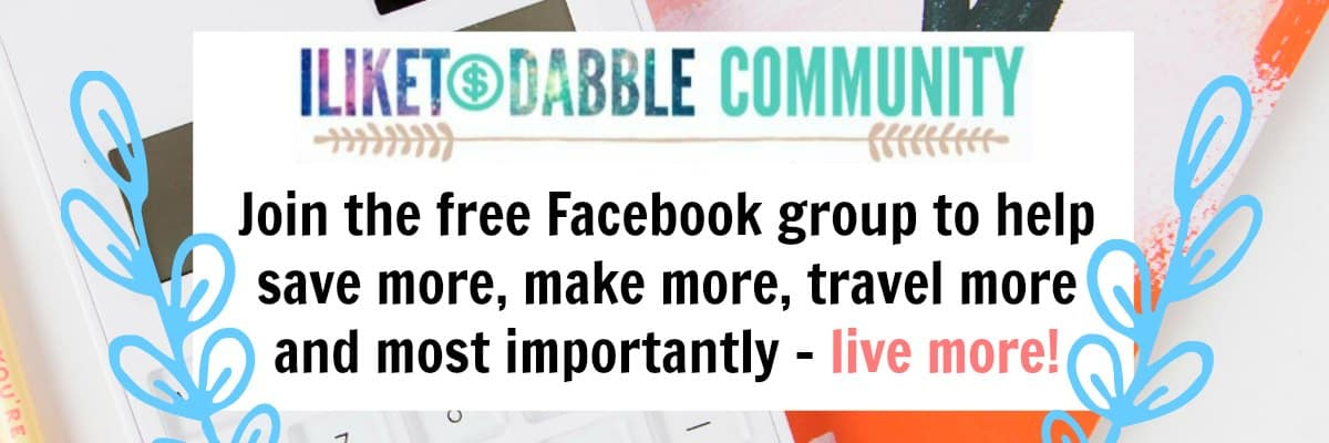 iliketodabble fb community home