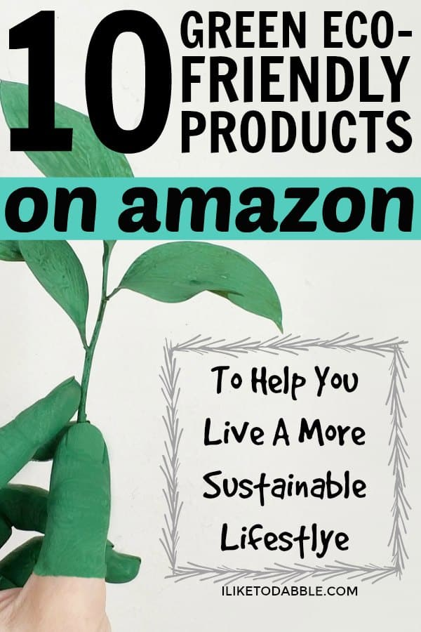 Green eco friendly products on amazon. Sustainable lifestyle. Reduce waste. Save money on energy. Money saving tips. Organic waste management. #savemoney #gogreen #ecofriendly #sustainableliving