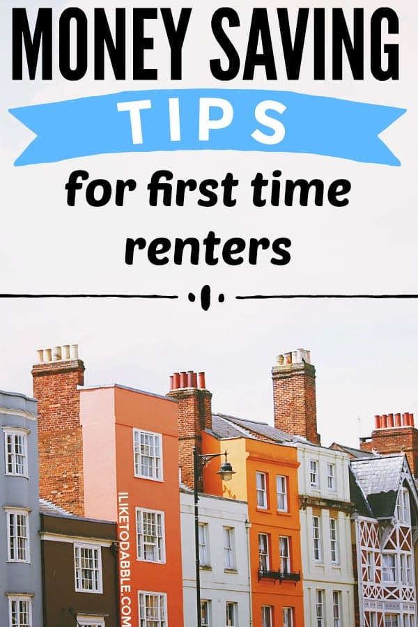 Money saving tips for first-time renters. How to save money on your rent. Save money on housing. Save money on rent. Negotiate your security deposit. #moneysavingtips #firsttimerenters #savemoneyonrent