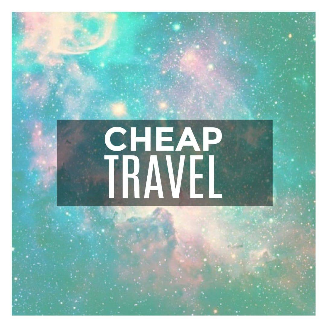 side hustle to financial freedom - cheap travel