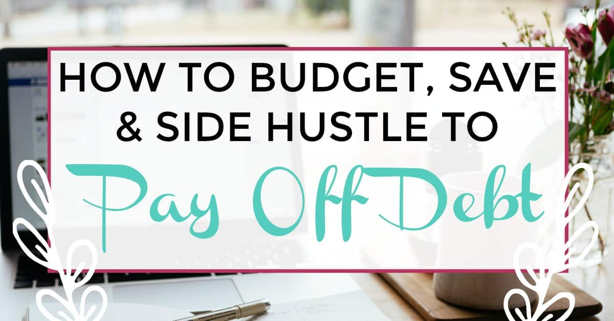 side hustle to pay off debt