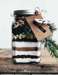 brownies in a jar creative gift ideas