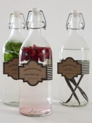 cranberry syrup creative gift ideas
