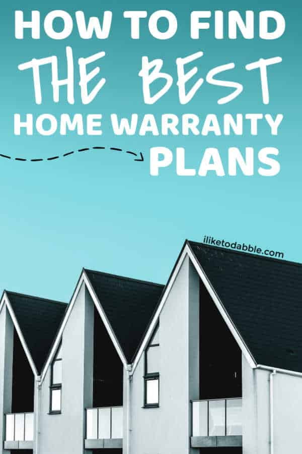 How to find the best home warranty plans. Compare home warranties. Financial tips for your first home. #homewarrantyplans #financialtips