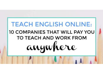 teach english online featured image