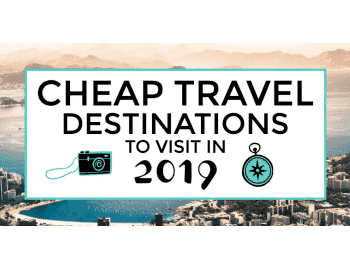 cheap travel destinations featured image