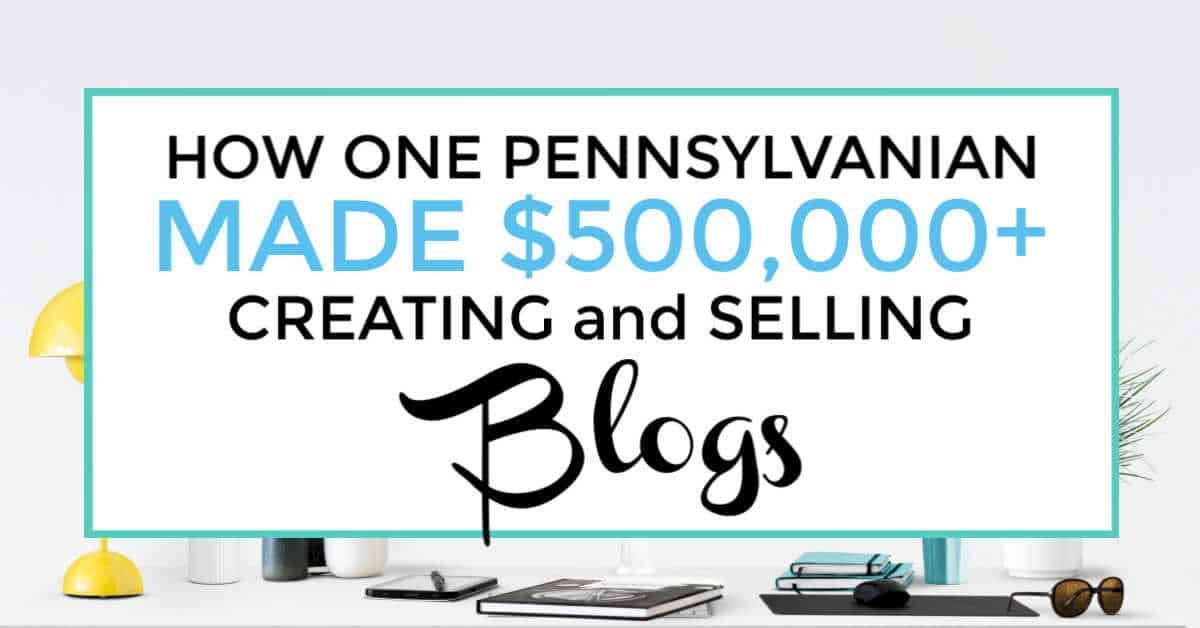 make money selling blogs featured image
