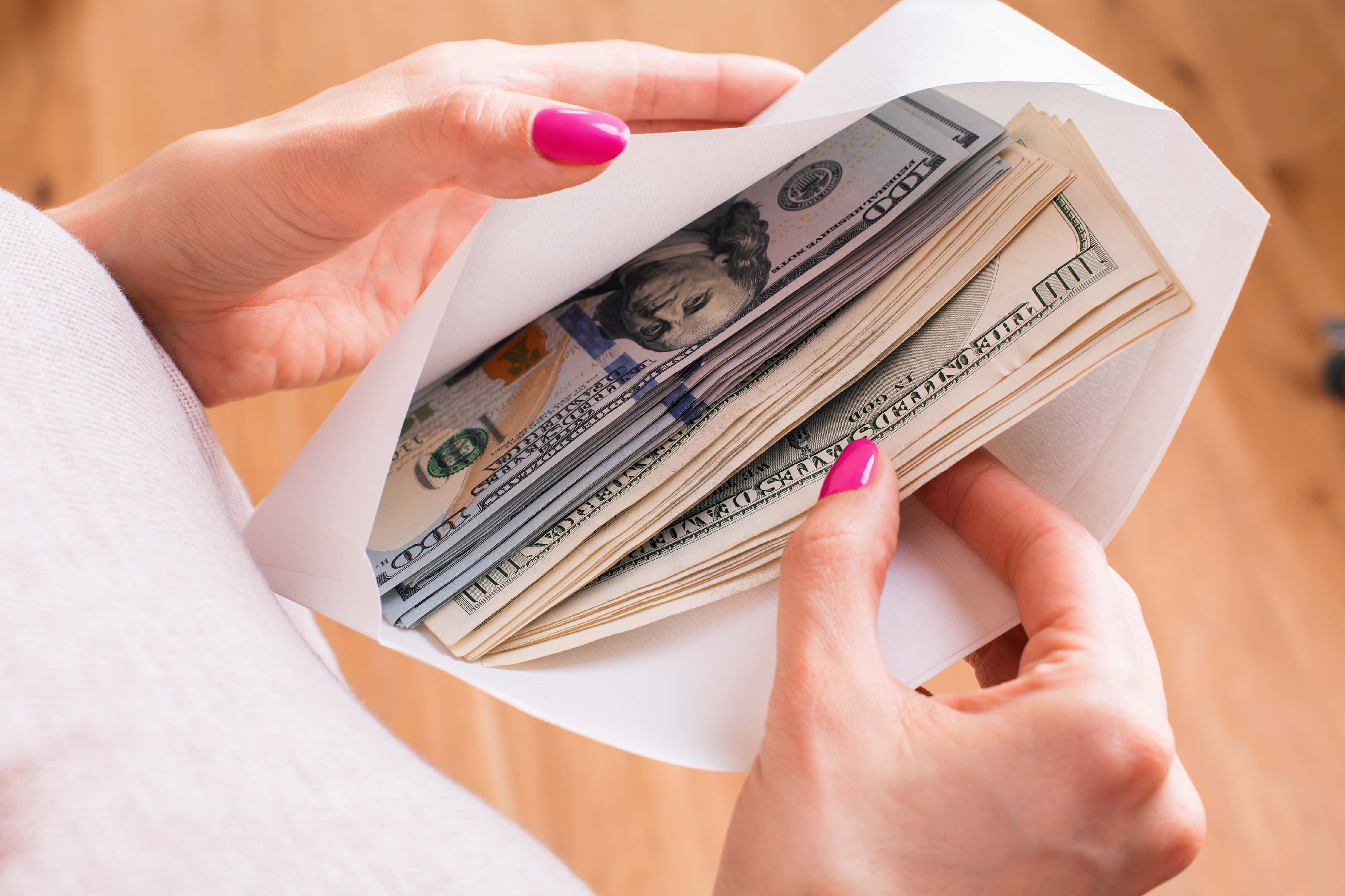 Frugal living tips for cash envelopes