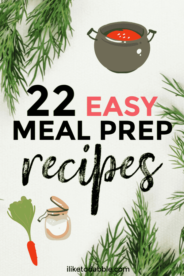Easy meal prep recipes when you don't have the time or the money. Cheap meal prep recipes. Quick meal prep recipes. #mealprep #cheapmealprep #quickmeals