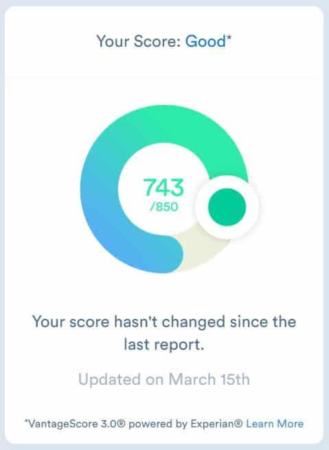Clarity money review credit score module snippet