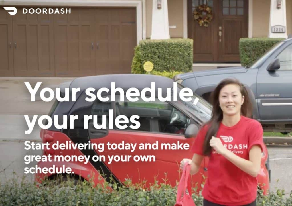 side hustle apps doordash driver