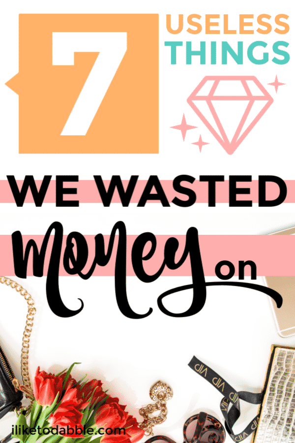 Things we waste money on. The worst money mistakes we have made. #savemoney #wastemoney