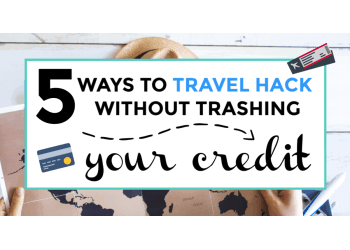 Travel hacking credit cards featured image