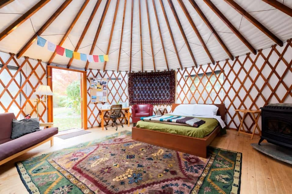 36th Urban Yurt for rent on airbnb