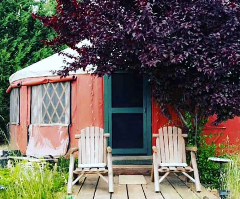 applegate valley yurt for rent on airbnb