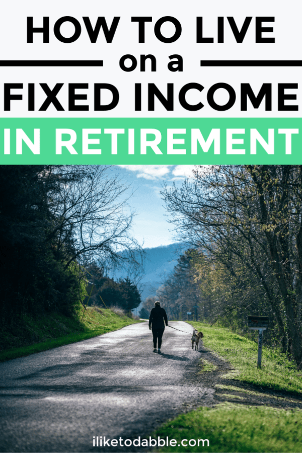 Tips for new retirees and how to live on a fixed income in retirement. #newretirees #retirement