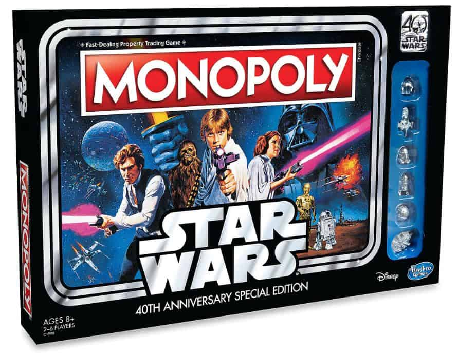 star wars monopoly thrift store flipping
