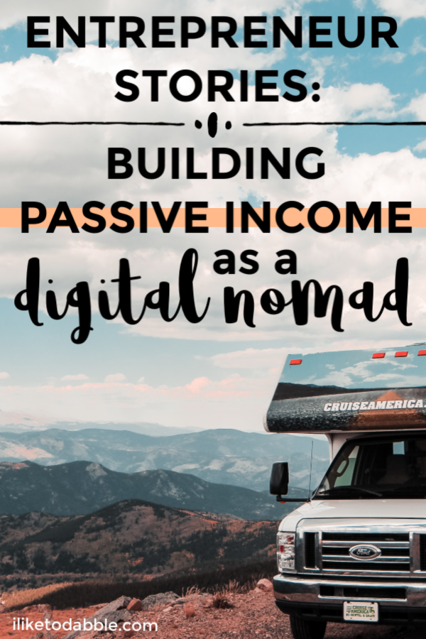 Entrepreneur stories interview with Sharon Tseung about leaving her job at Google to become a digital nomad. How to build passive income as a digital nomad. Side hustle ideas for digital nomads. #entrepreneurstories #passiveincome #digitalnomad #sidehustles #sidehustleideas #sidehustle