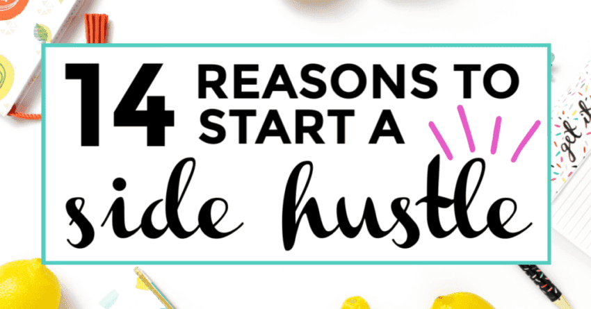 reasons to start a side hustle featured image