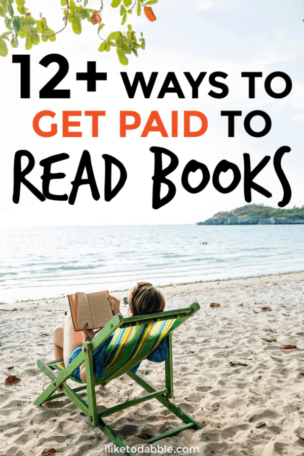 Get paid up to $300 an hour to read books with a variety of different jobs and gigs reviewing books. The best thing about this money making venture is it can be done entirely from home or remotely as you travel. #getpaidtoreadbooks #bibliophile #sidehustle #readbooks #makemoney #sidegigs #freelance #reviewbooks