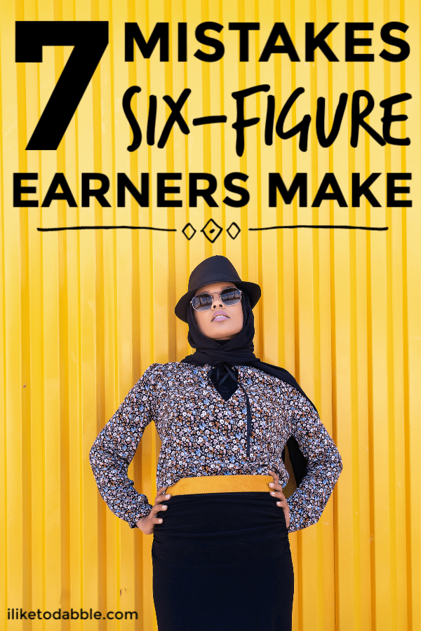 When you start earning six figures, don't fall victim to lifestyle inflation and forget about where all your money is going. People from all income levels should always stay on top of their money, track spending and work towards a long term financial plan. Your life depends on it. #sixfigureearner #sixfigure #salary #lifestyleinflation #budgetips #spendingtips #moneytips #financialtips