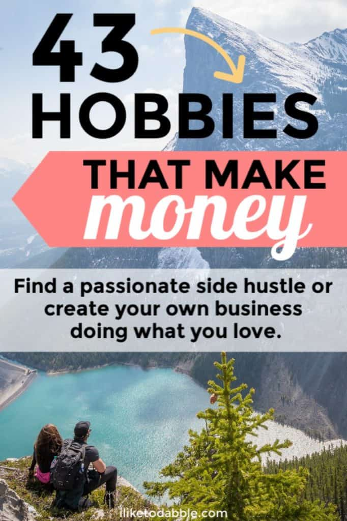 Browse this list of 43+ hobbies that make money to find a passionate side hustle or create your own business. Included are the exact ways I have been able to monetize my hobbies so you can real case study data to look at if you want to take the same plunge. #makemoney #sidehustle #sidehustles #hobbiesthatmakemoney #hobbies #passion #passionatehobbies #sidehustleideas #passiveincome #entrepreneurship #entrepreneurlife #entrepreneur #smallbiz #sidebiz #sidegig