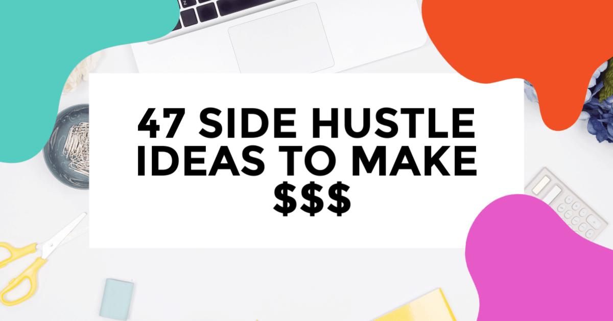 best side hustle ideas featured image