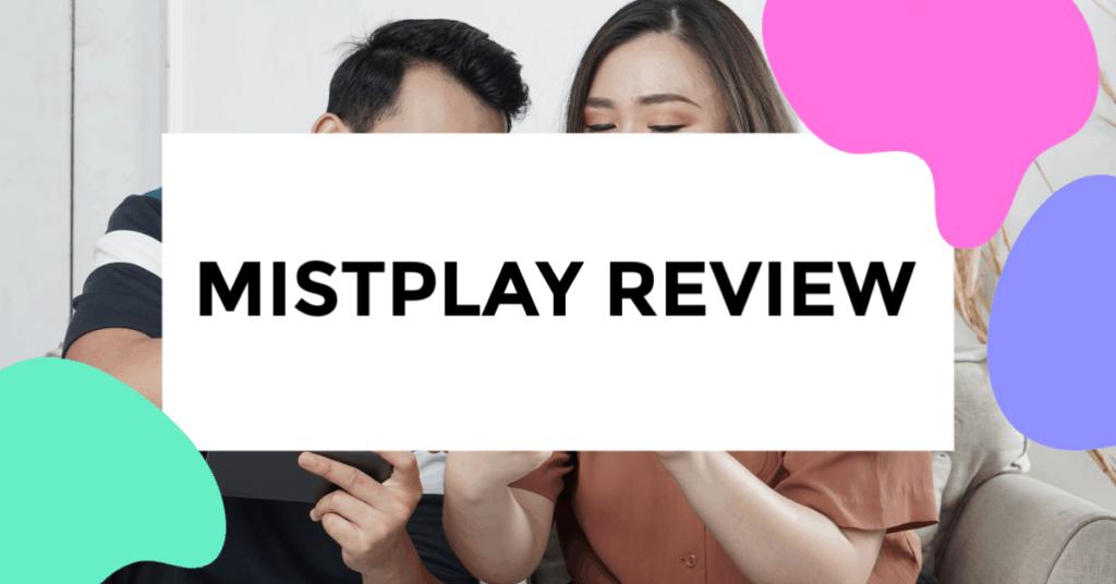 recensione mistplay.  immagine in primo piano di una coppia che gioca a un gioco online dal proprio telefono.