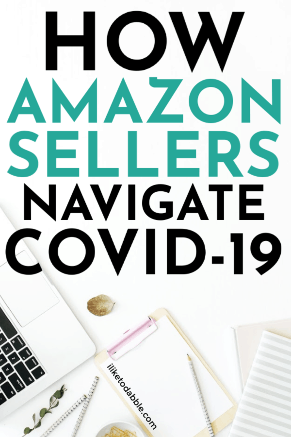 How to pivot as an Amazon seller. Image of laptop, clipboard, pencils and journals on desk. #sellonline #reseller #amazonseller #amazon #workfromhome #sidehustleideas