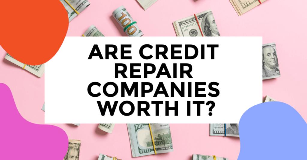 credit repair companies. featured image of dollar bills rolled.