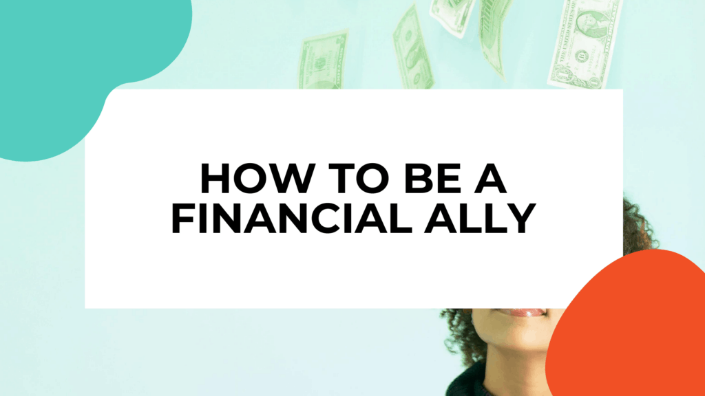 financial ally featured image with woman in background