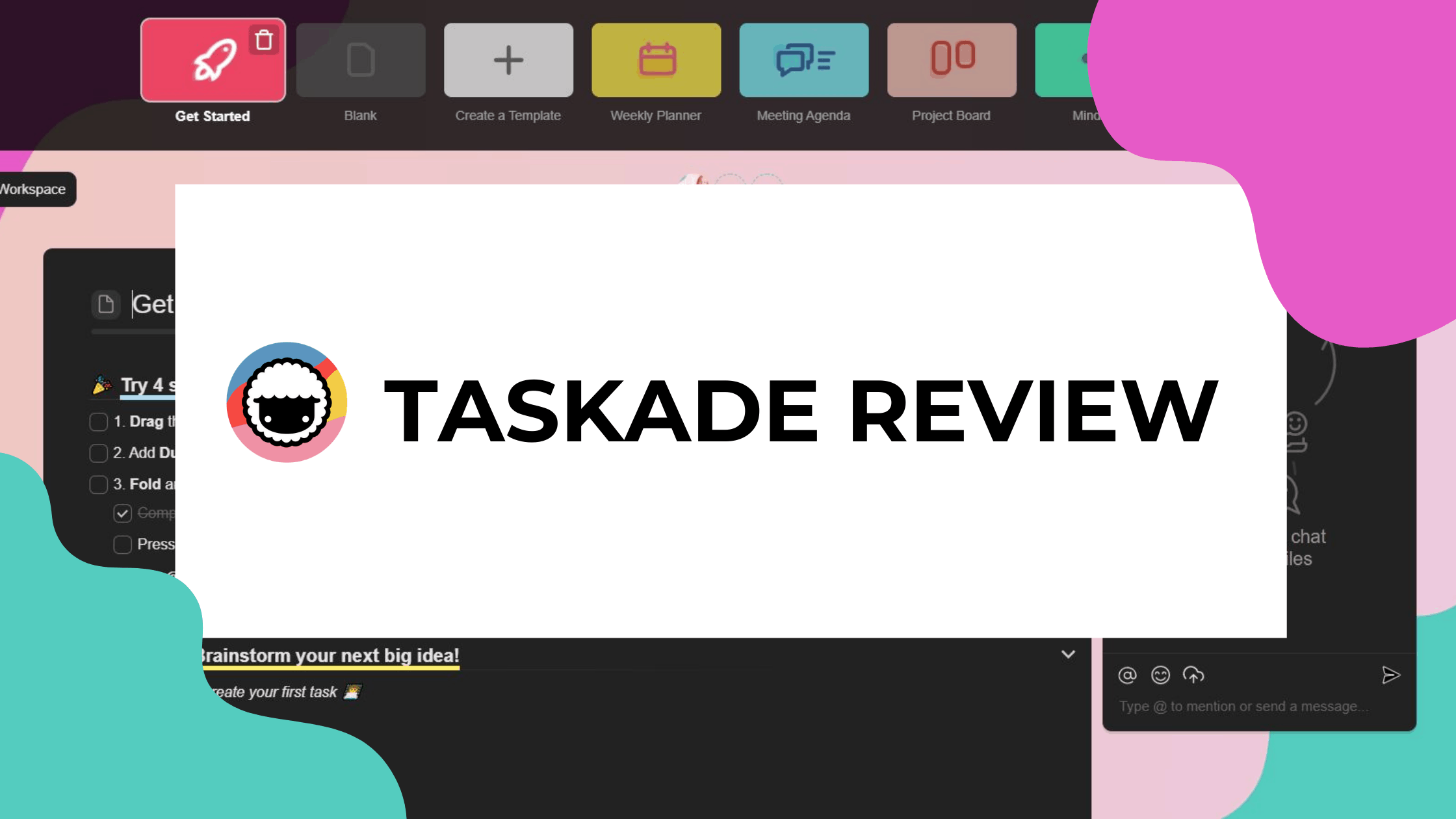 taskade review featured image