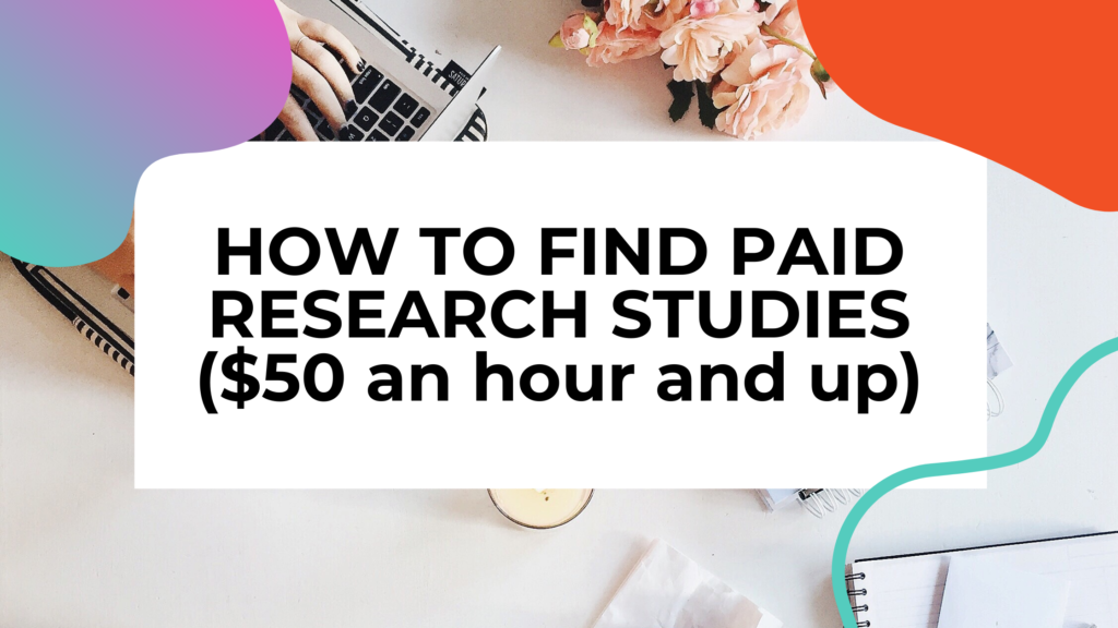 paid research studies